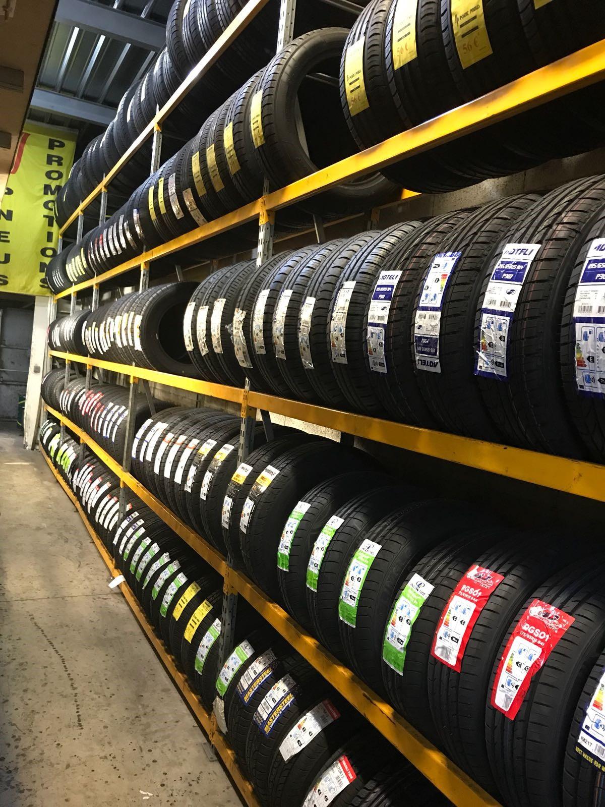 pneus neufs  reparation
